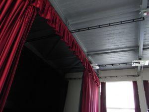 Stage Curtain Installation