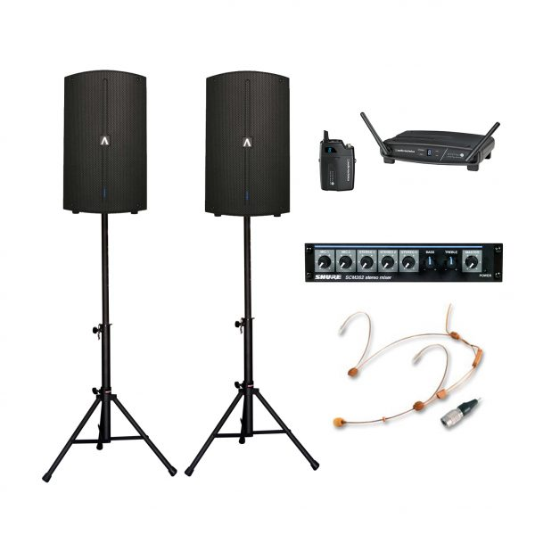 Medium PA Package Hire