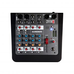 ZED6 MIxing Desk Hire