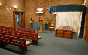Gloucestershire Crematorium Curtain Repair